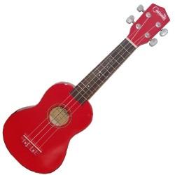 Ukulele Soprano Cocoon KU BW R - Rojo